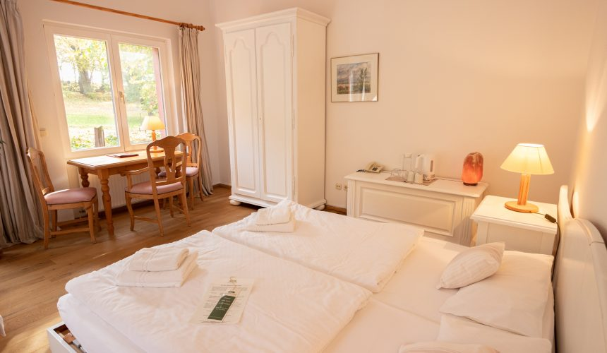 Zimmer der Kategorie Garten