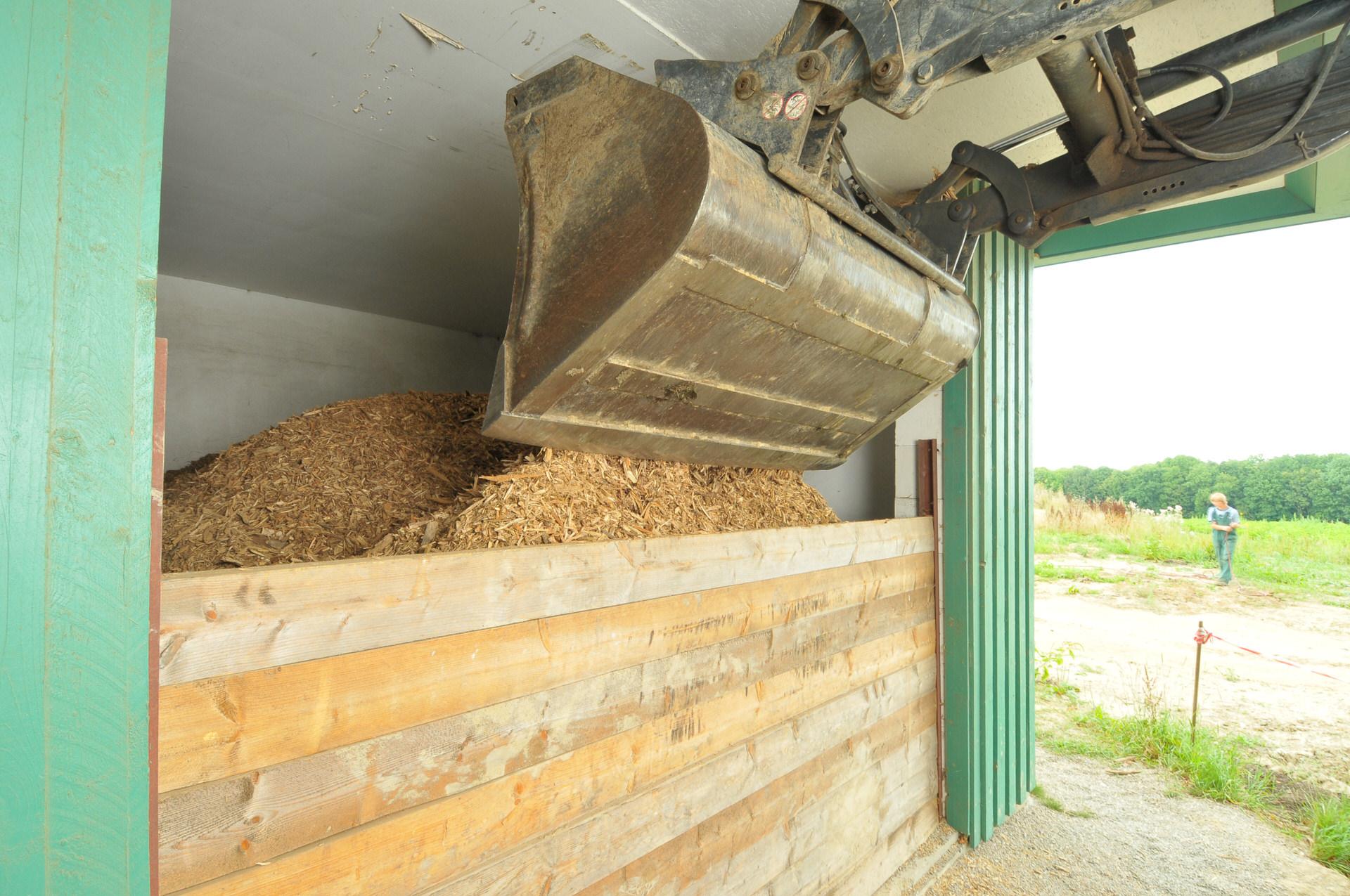 Holzhackschnitzelheizung
