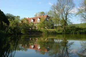 Ferienwohnung Haus am Teich